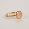 Product shot of Pernille Corydon Aura Rose Adjustable Gold Ring