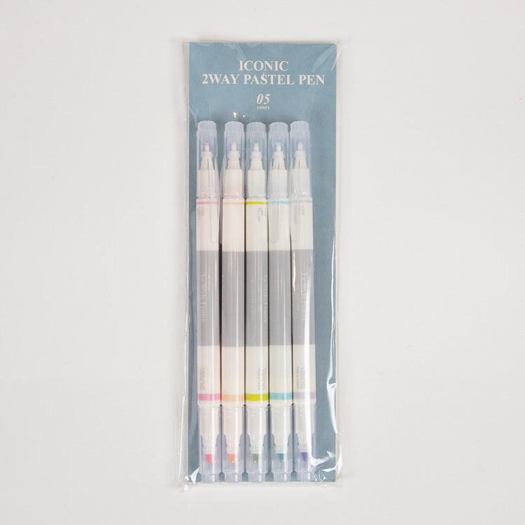 Iconic 2 Way Pastel Pen Set
