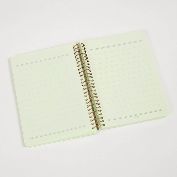 Midori Colour Paper Green A7 Notebook