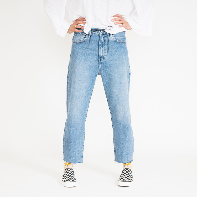 Levi's Made & Crafted Barrel Crop Palm Blues Jeans - alternative image