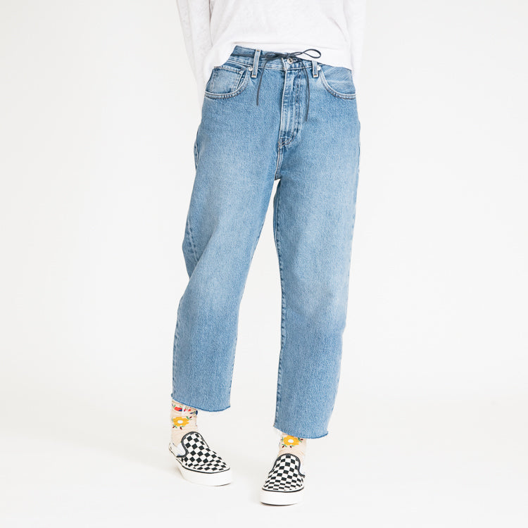 Levi's Made & Crafted Barrel Crop Palm Blues Jeans
