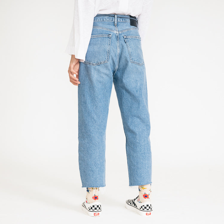 Levi's Made & Crafted Barrel Crop Palm Blues Jeans - back view