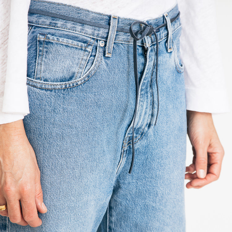 Levi's Made & Crafted Barrel Crop Palm Blues Jeans - top detail