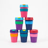 Product shot of a selection of KeepCup Reusable Travel Cups 340ml
