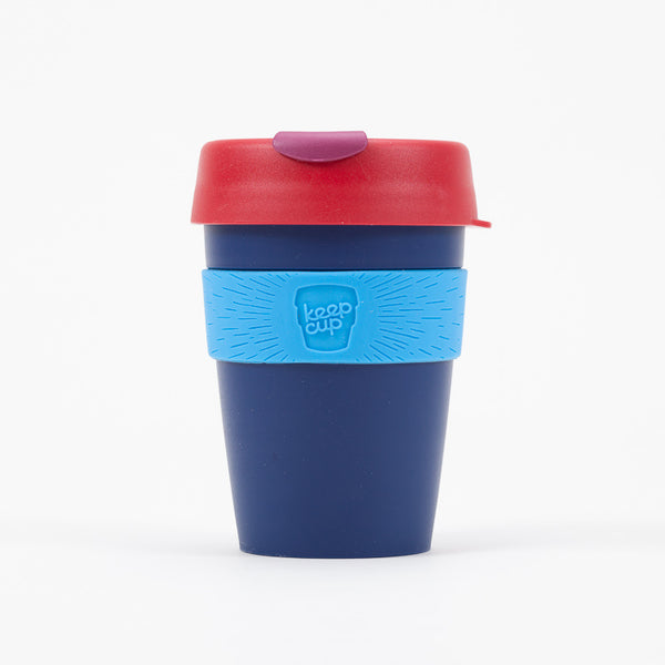 Product shot of KeepCup Zephyr Reusable Travel Cup 340ml - Front view