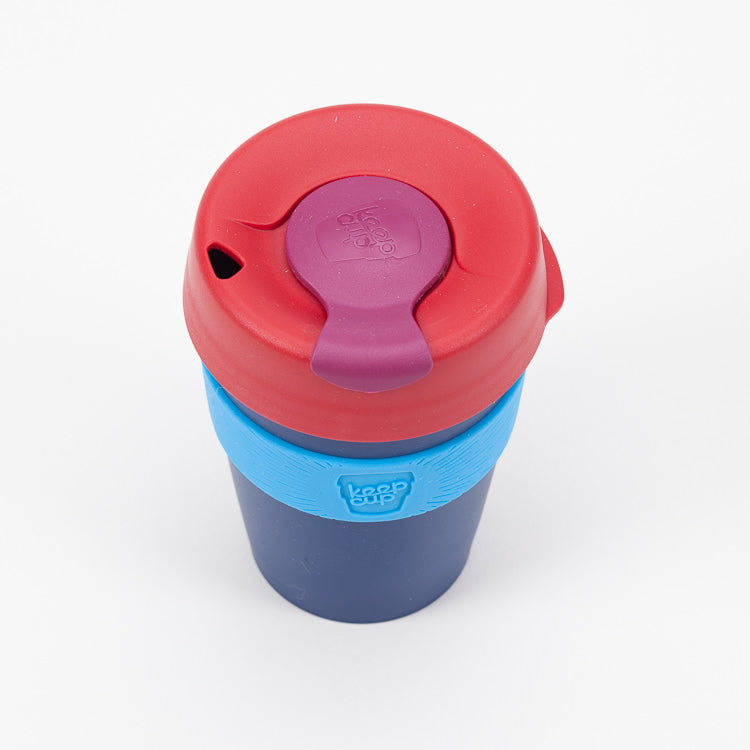 Product shot of KeepCup Zephyr Reusable Travel Cup 340ml - Top view