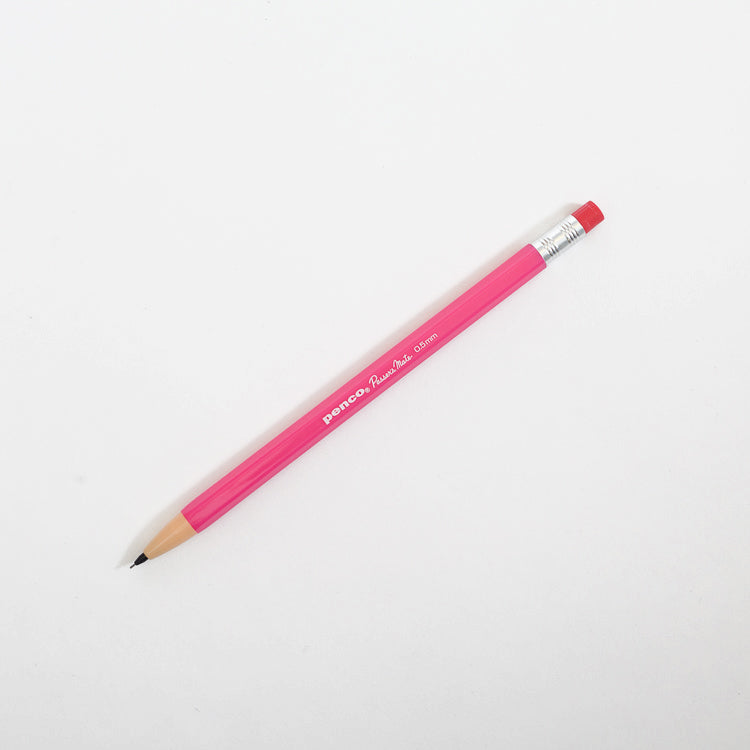 Product shot: Penco Passers Mate Pink 0.5mm Pencil on a white background