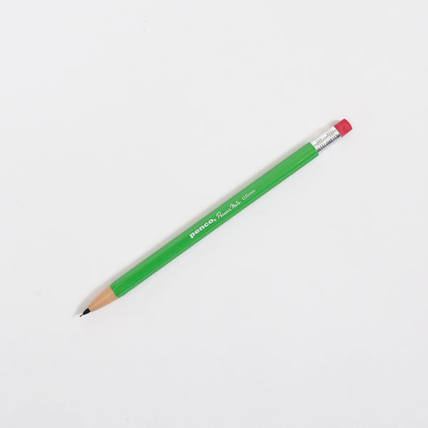 Product shot: Penco Passers Mate Green 0.5mm Pencil on a white background