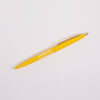 Product shot: Penco BIC Clic Ballpoint Yellow Pen on a white background
