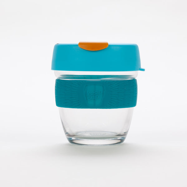 Product shot of KeepCup Brew Breeze Glass Reusable 8oz / 227ml Cup