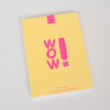 Product shot, back cover: 1973 Hello Sunshine A6 Notebook