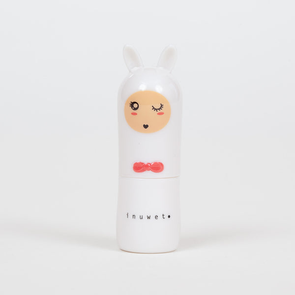 Product shot: INUWET Bunny Cotton Candy Lip Balm
