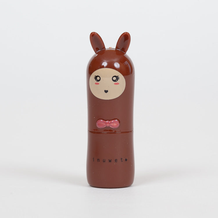 Product shot:  INUWET Bunny Cola Lip Balm