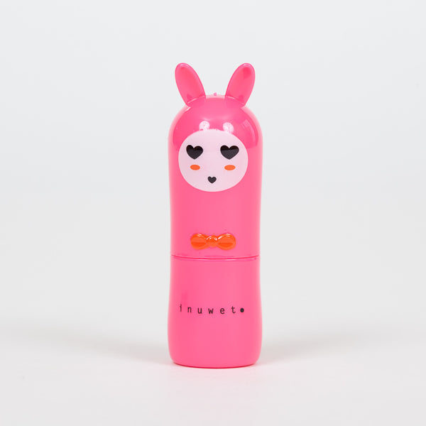 Product shot: INUWET Bunny Cherry Lip Balm