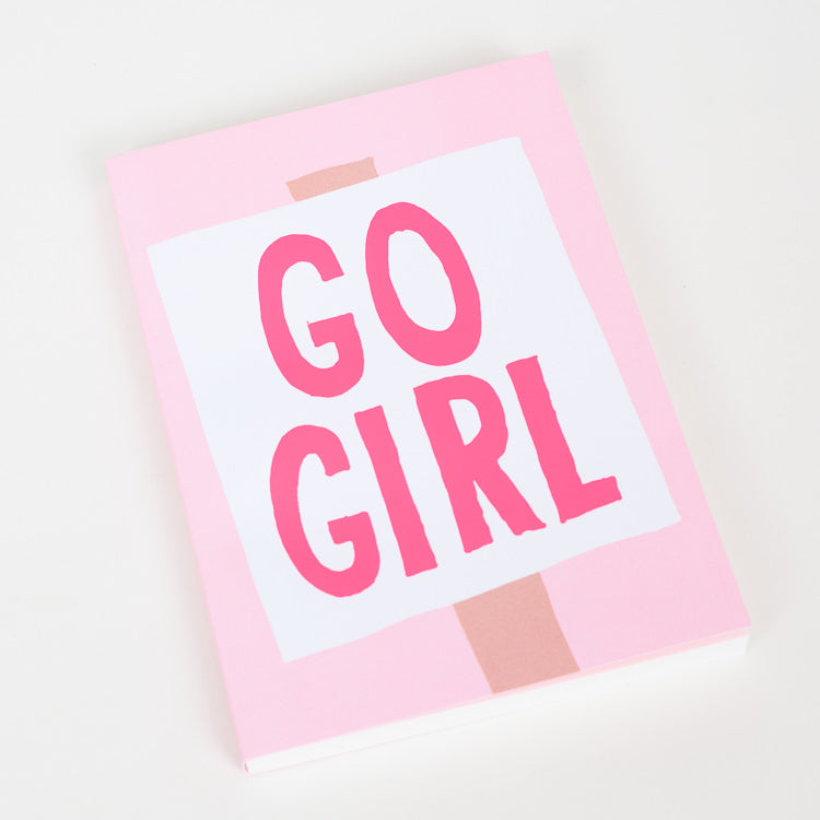 1973 Go Girl A5 Notebook