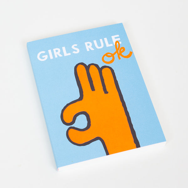 1973 Girls Rule Ok A5 Notebook