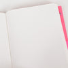 Blank inner pages of an Ashkahn A6 Notebook
