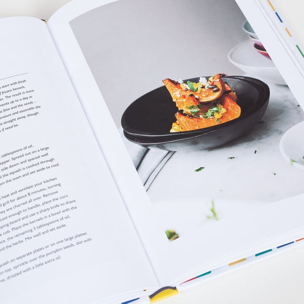 Product shot of Ottolenghi Simple book - Inner recipe page