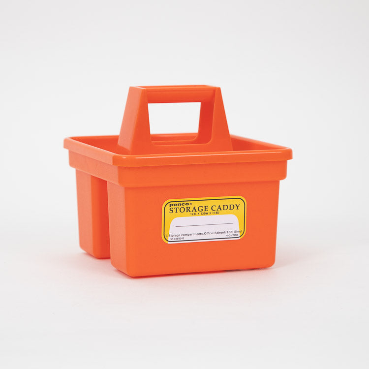 Hightide Penco Small Orange Storage Caddy