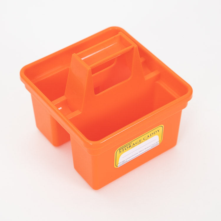 Hightide Penco Small Orange Storage Caddy - top view