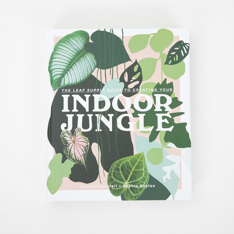 The Leaf Supply Guide To Creating Your Indoor Jungle - front cover