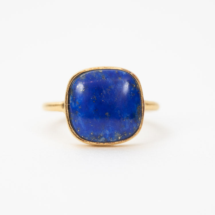 Pernille Corydon Lapis Lazuli Adjustable Ring - detailed view