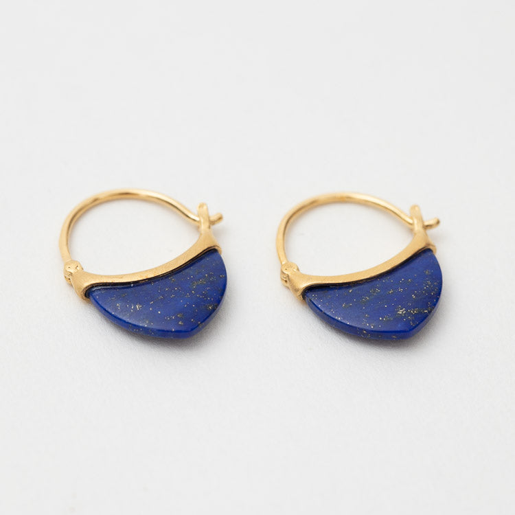 Pernille Corydon Small Lapis Lazuli Earrings - alternative view