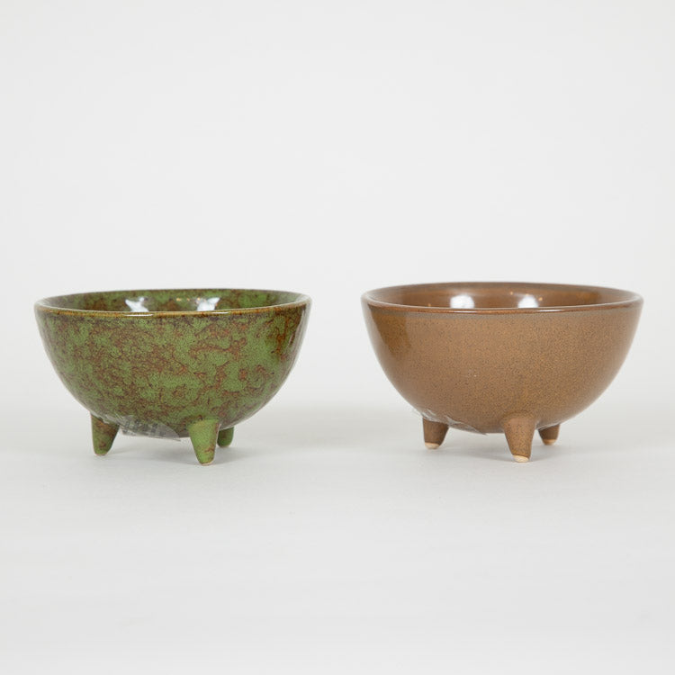 Bloomingville Set Of 2 Multi-colour Stoneware Flowerpots