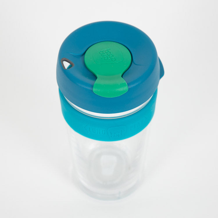 KeepCup Longplay Harvest Reusable 454ml /16oz Cup - top view