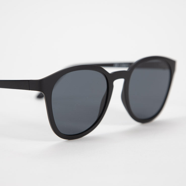 Le Specs Renegade Matte Black Sunglasses - side shot