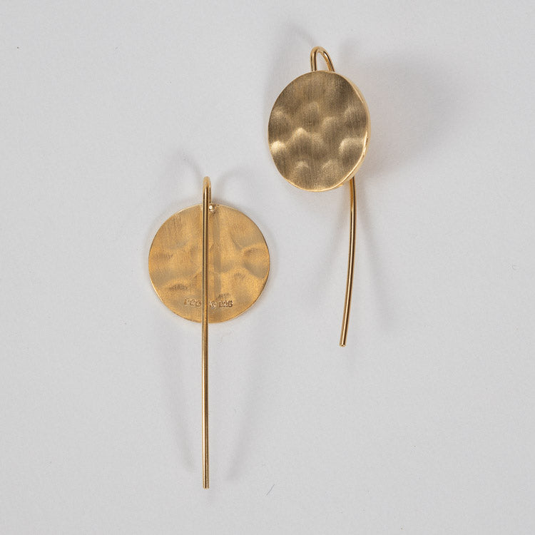 Pernille Corydon Gold Dublin Hook Earrings