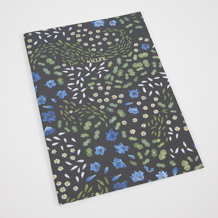 Ohh Deer Floral Primordia A4ish Notebook