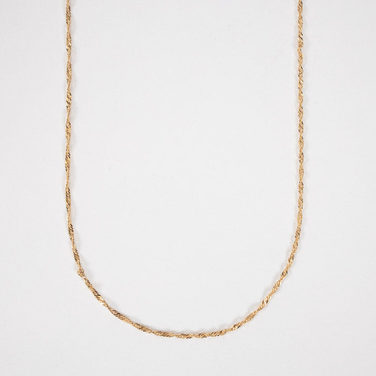 Pernille Corydon Gold Singapore Long Necklace