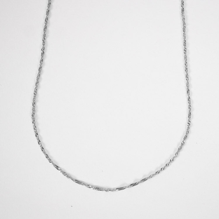 Pernille Corydon Silver Singapore Short Necklace
