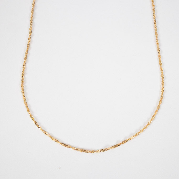 Pernille Corydon Gold Singapore Short Necklace