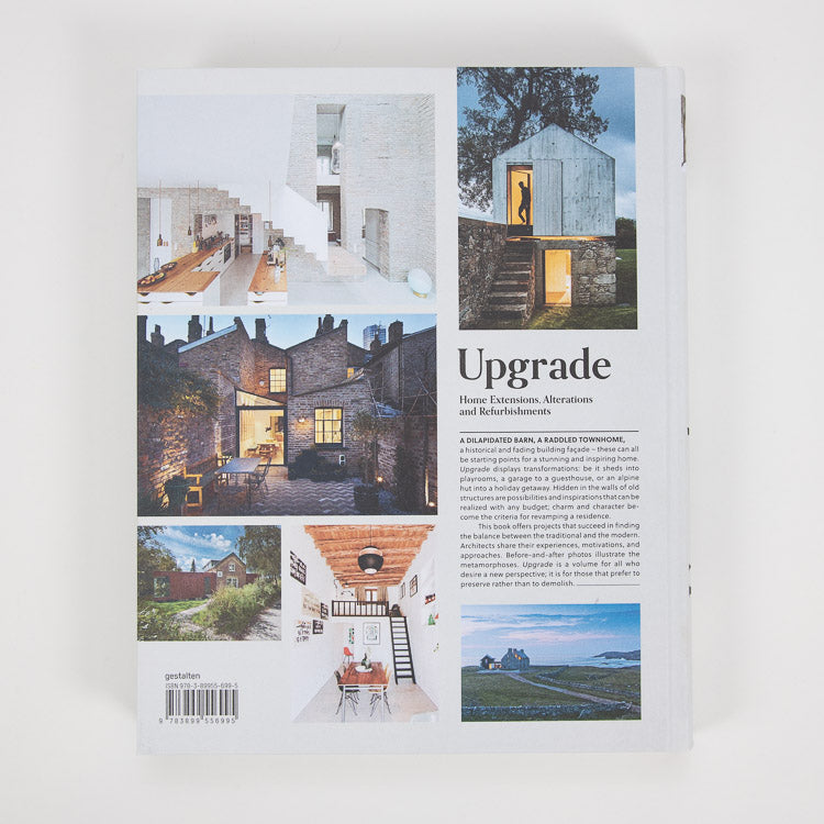 Upgrade: Home Extensions, Alterations & Refurbishments - back cover