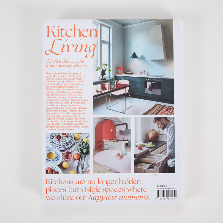 Kitchen Living: Kitchen Interiors for Contemporary Homes - back cover