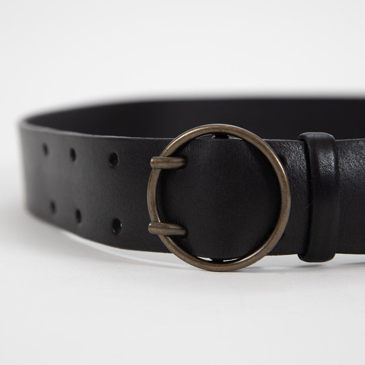 Bellerose Selya Black Leather Belt