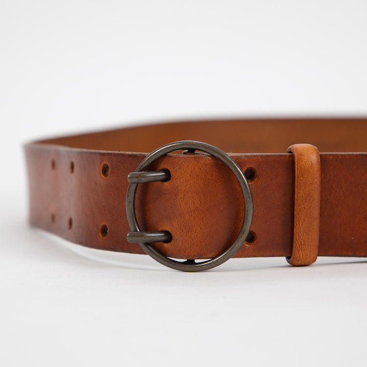 Bellerose Selya Cognac Leather Belt