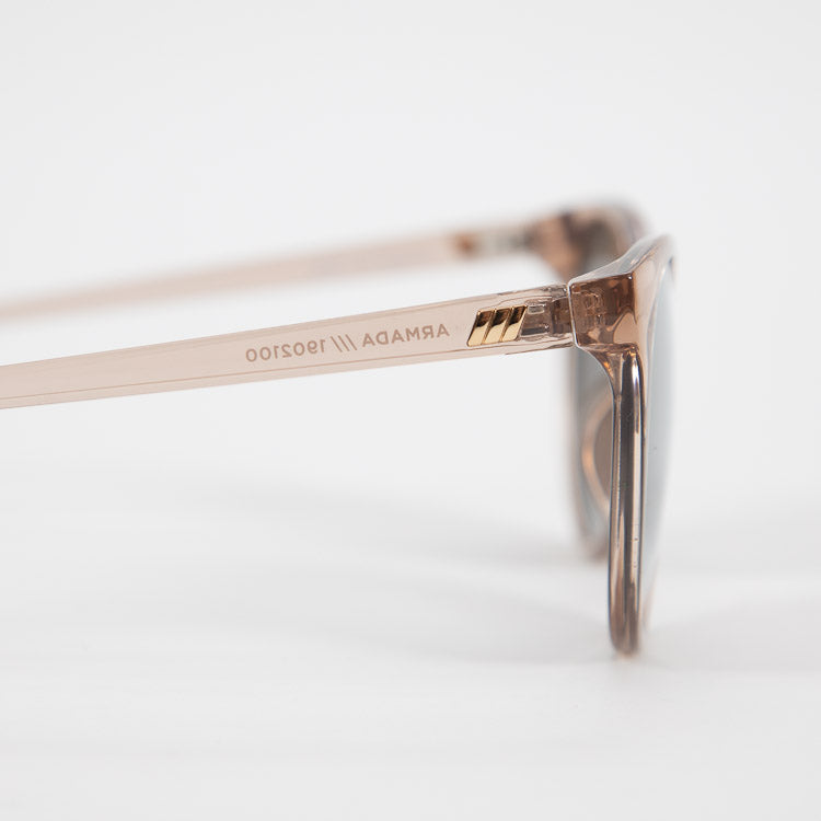 Le Specs Armada Stone Mirrored Sunglasses - detailed view