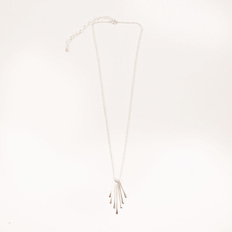 Product shot: Pernille Corydon Waterfall Silver Necklace