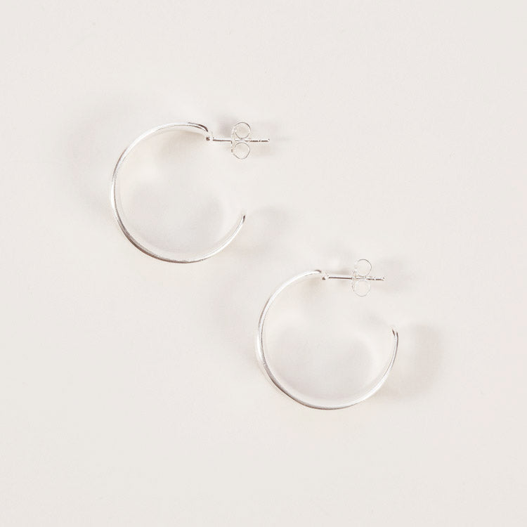 Product shot: Pernille Corydon Silver Saga Earrings