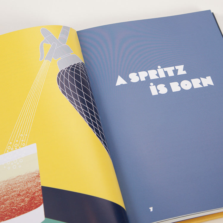 Product shot: Spritz: Italy's Most Iconic Aperitivo Cocktail, inner spread detail