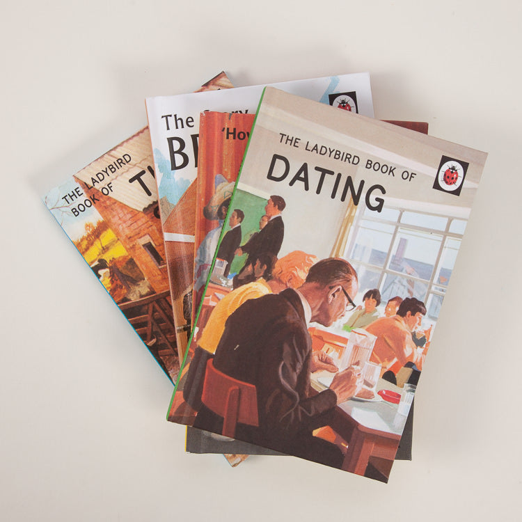 A group of Ladybird books