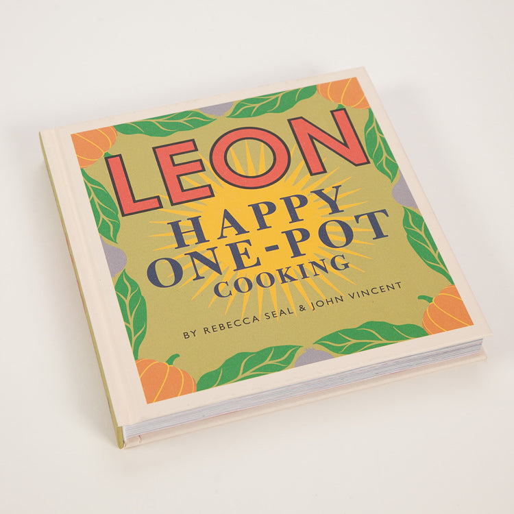 Product shot: Leon: Happy One Pot Cooking Book