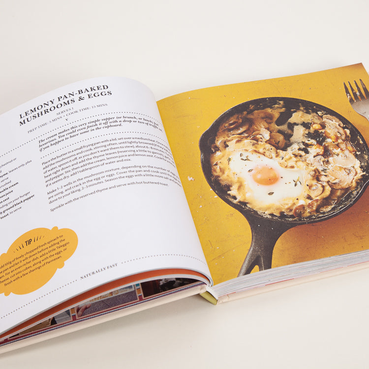 Product shot: Leon: Happy One Pot Cooking Book, detail spread