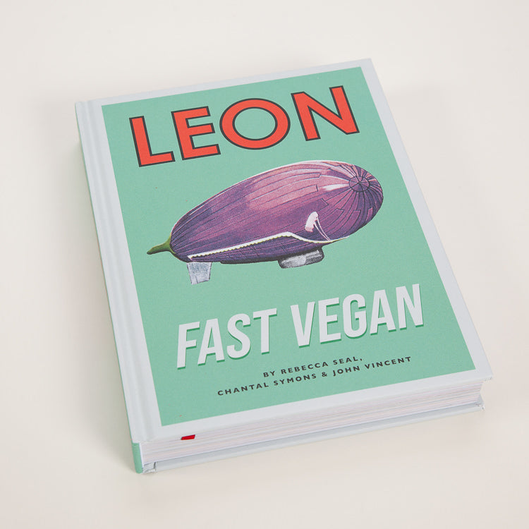 Product shot: Leon: Fast Vegan CookBook