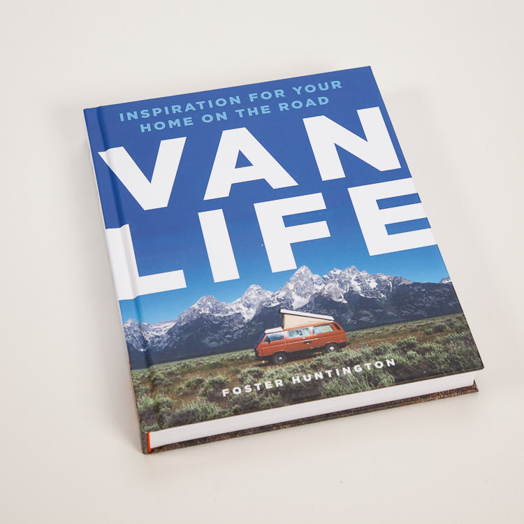 Product shot: Van Life: Inspiration for your home on the road Book