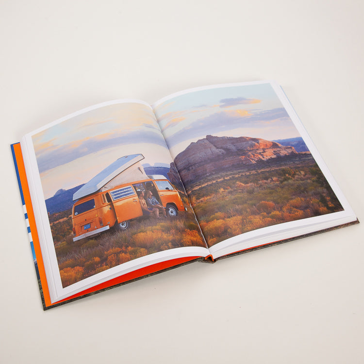 Van Life: Inspiration for your home on the road Book, inner spread