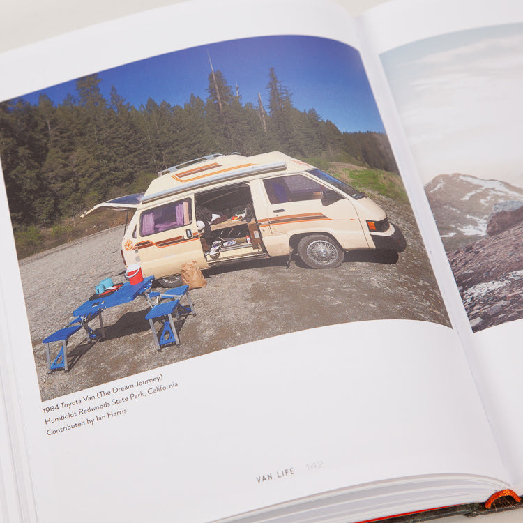 Van Life: Inspiration for your home on the road Book, inner spread detail